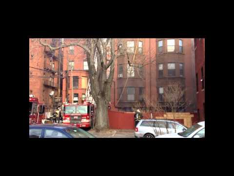 Apartment fire in Boston's Back Bay Neighborhood (part 1)