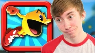 PAC-MAN DASH! (iPhone Gameplay Video)