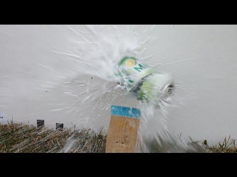 Homemade Airgun Destroying Stuff