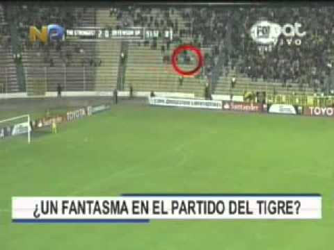 ¿Fantasma en el estadio?