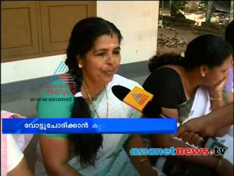 Kerala Election 2014  : P. C. Chacko's family start campaign for him