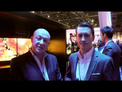 CES 2014: Panasonic stand tour. 4K Curved OLED, 4K LED TV - better than plasma?