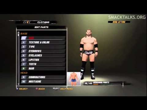 WWE '12 James Storm CAW Formula by GaMeVoLt &amp; The D