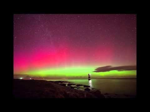 Aurora Borealis Over Penmon, Anglesey - 27th February 2014