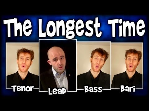 For The Longest Time (Billy Joel) - A Cappella Barbershop Quartet