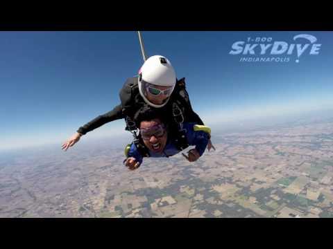 Ashish Chandra's Tandem skydive!