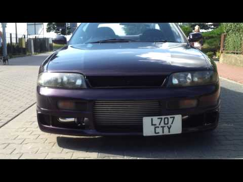 nissan skyline r33 Gts-t purple