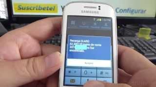 Como Ver Numero De Celular Claro Samsung Galaxy Young