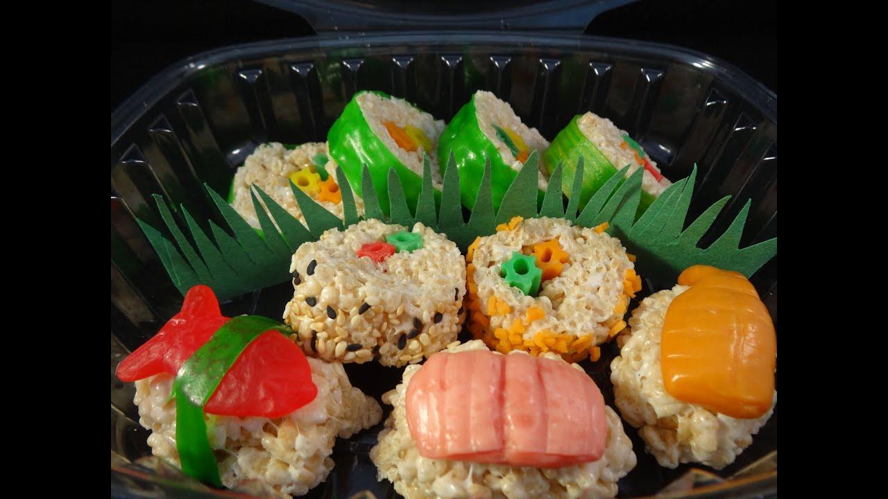 Diy Sushi Cake Pops