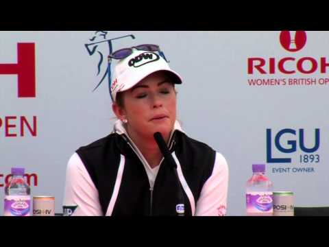 Paula Creamer's Pre-Tournament Interview at the 2014 RICOH Women's British Open