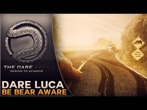 Be Bear Aware | Speedart | By Dare Luca