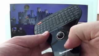 Lenovo N5901 Wireless Mini Remote Keyboard & Trackball