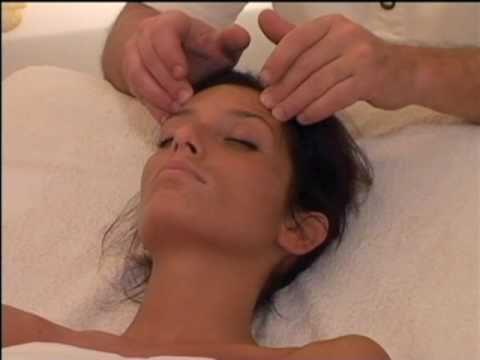 il massaggio alla testa