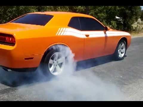 2012 Challenger 3.6L V6 burnout