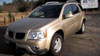 2006 Pontiac Torrent Hub Bearing Repair videos