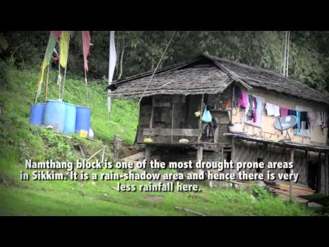 Water conservation for climate change adaptation in Sikkim