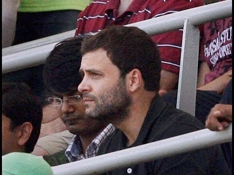Modi Modi chant greets Rahul Gandhi at Wankhede stadium