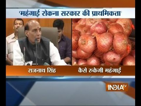Rajnath Singh announces crackdown on hoarders to check price rise
