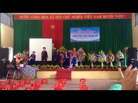 Màn chào hỏi giao lưu tiếng việt của chúng em Trường TH 2 Thị Trấn Hữu Lũng - Lạng Sơn