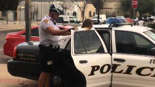 Bikini Wearing Girls Busted & Cuffed In Tucson.