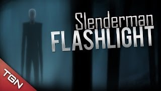¡ABRÁZAME SLENDERMAN! :3 - Slender Flashlight