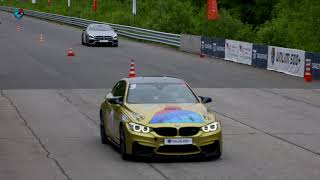 750 HP BMW M4 vs 750 HP Mercedes SL63 AMG. DragTimes info video - Драгтаймс инфо видео.