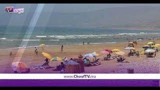 شاطئ أغروض نواحي أكادير قبلة للباحثين عن الاستجمام والهدوء وسط العشوائية والأزبال | خارج البلاطو