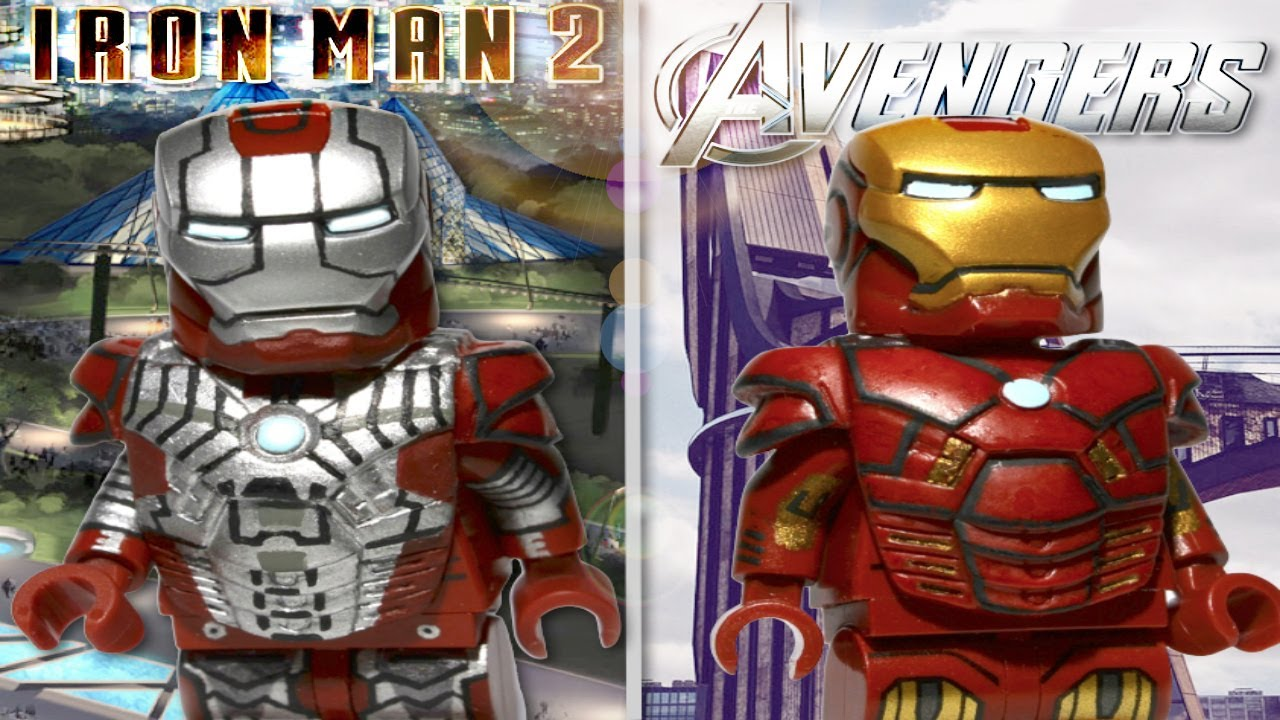 LEGO Marvel : Iron Man Mark V & Iron Man Mark VII V2 ...