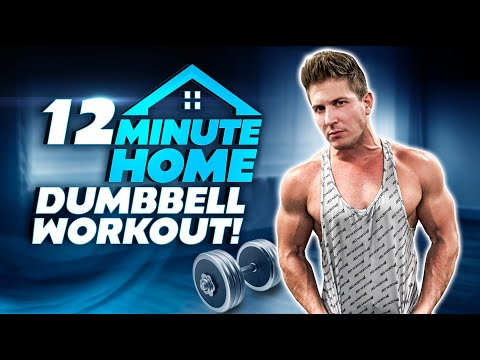 "12 MIN. AT HOME ""FULL BODY"" FAT MELTING WORKOUT! 