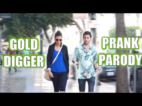 Gold Digger Prank (PARODY)