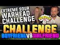 BF vs GF EXTREME SOUR WARHEAD CHALLENGE | FIFA 15
