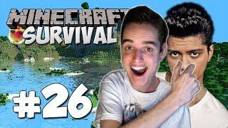 BRUNO MARS IN ZIJN NEUS KNIJPEN! - Minecraft Survival #26