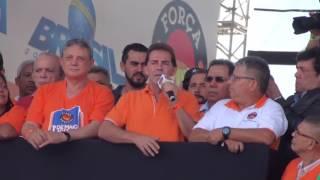 Paulinho da Força fala para 700 mil pessoas no 1° de Maio