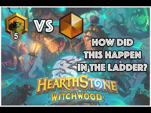 Rank 5 VS A Legend Player In Ladder??? - Hearthstone - Competitive Gameplay