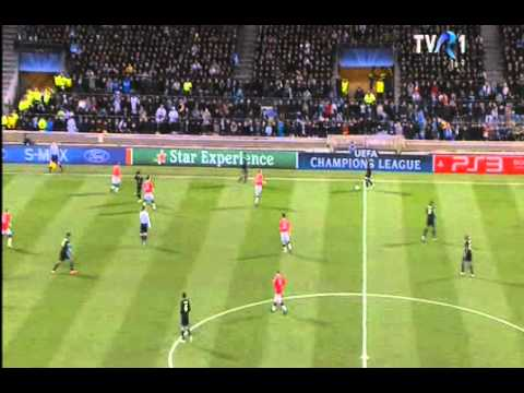 Olympique Marseille - Manchester United  0-0 Full Match Highlights 23-02-2011