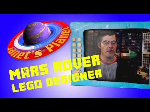 Lego Mars Rover Designer on Janet's Planet