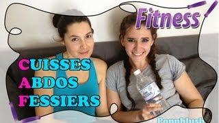 Fitness Routine à La Maison : Cuisses Abdos Fessiers Au
