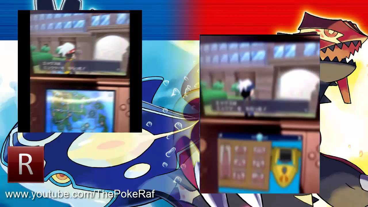Pokemon Omega Ruby and Alpha Sapphire | Gameplay Images ...