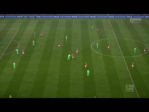 FIFA 17 Career mode with  Borussia mönchengladbach
