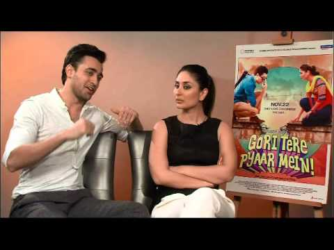 Bollywood Eye: Press Interview Kareena Kapoor & Imran Khan: Gori Tere Pyaar Mein