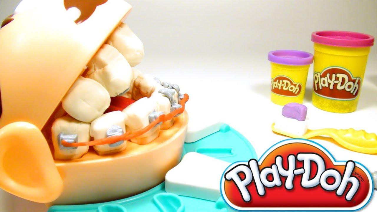 play doh dentist doctor drill 39 n fill playdough dentist. Black Bedroom Furniture Sets. Home Design Ideas