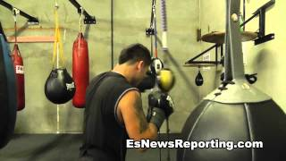 Marcos Maidana Popping A Speed Bag A Day