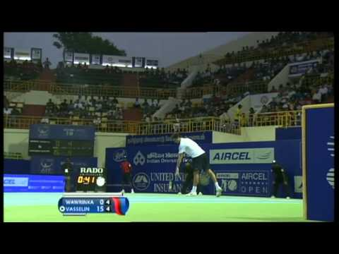 ACO 2014 - Day7: Singles Final - S WAWRINKA vs E ROGER-VASSELIN