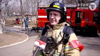 Замыкание электропроводки привело к пожару.  Эвакуированы воспитанники детского дома