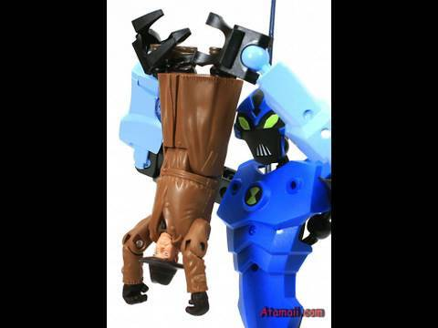 LEGO Ben 10 Big Chill Toys Review HD Action Figure Unboxing