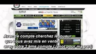 Fifa 13*/Astuce Transfert Crédits Et Joueurs*/Fifa