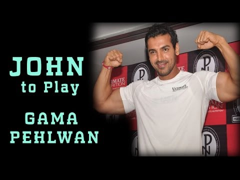 John Abraham To Play GAMA PEHLWAN ??