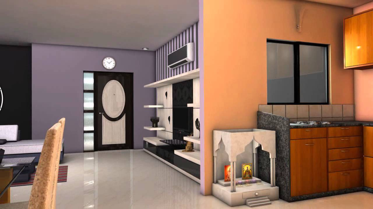 Outstanding Interior Design for Small 2 BHK Flats 1280 x 720 · 68 kB · jpeg