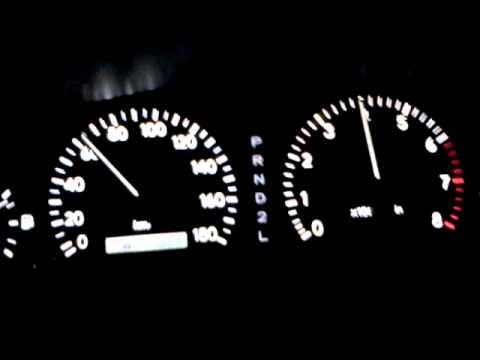 Разгон Toyota Cresta с двигателем 1JZ-GE от 0-100 км/ч