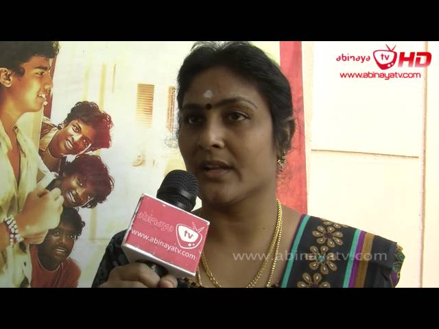 ParuthiVeeranSujatha Sivakumar @ Goli Soda Success Meet